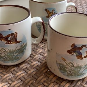 Vintage Duck Cups